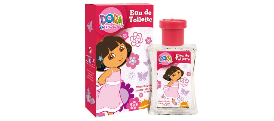 Eau de toilette Dora l'exploratrice